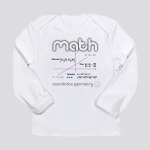 Math Coordinate Geometry Long Sleeve Infant T-Shir