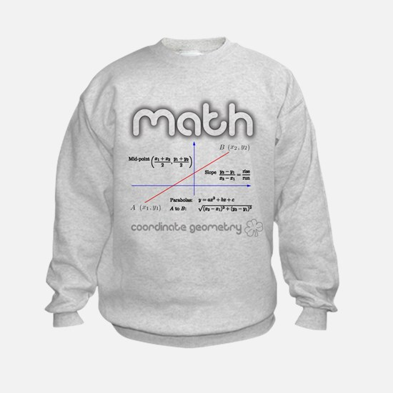 Math Coordinate Geometry Sweatshirt