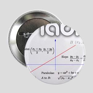 "Math Coordinate Geometry 2.25"" Button"
