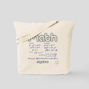 Algebra Tote Bag