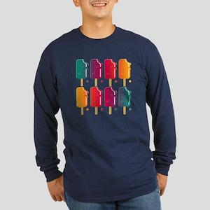 Popsicles Long Sleeve Dark T-Shirt