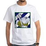3ID-3rd Brig. RockyBulldog White T-Shirt