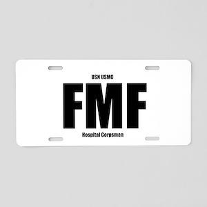 FMF Aluminum License Plate