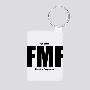 FMF Aluminum Photo Keychain