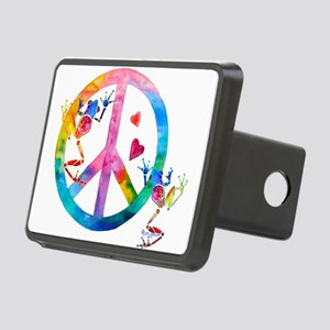 Peace4Frogs Rectangular Hitch Cover