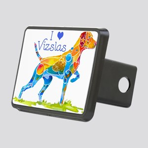 I LOVE HUNGARIAN VIZSLAS GIFT Rectangular Hitch Co