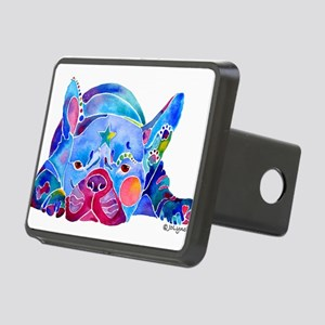 FrenchBulldogWhimZaz Rectangular Hitch Cover