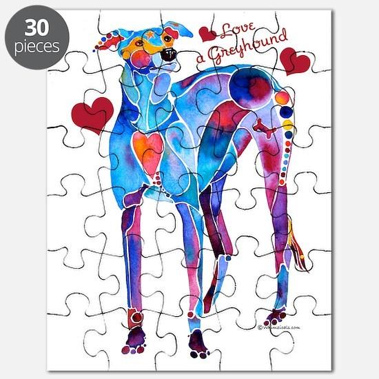 Love a Greyhound Puzzle