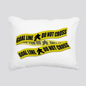 Ice Hockey Goalie Crime Tape Rectangular Canvas Pi