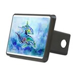 Dolphins4Cafe Rectangular Hitch Cover