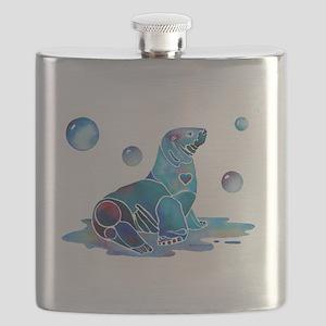 SaltySeal4Cafe Flask