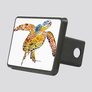SeaTurtle Rectangular Hitch Cover