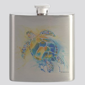 2-SeaTurtle3CafeZ Flask