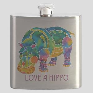 LoveAHIPPO-11Z Flask