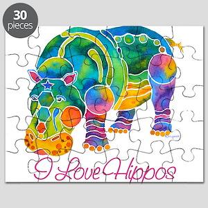 ILOVEHippos-11 Puzzle