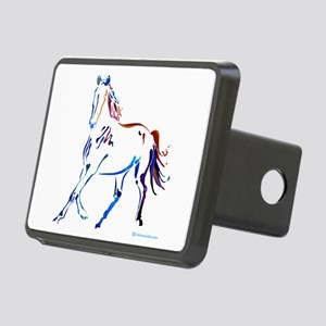 Horse of Many Colors Rectangular Hitch Cover