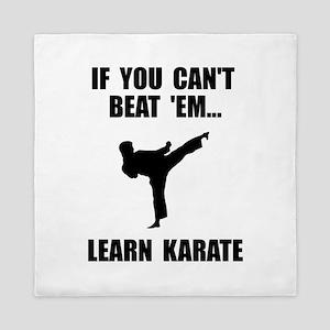 Learn Karate Queen Duvet