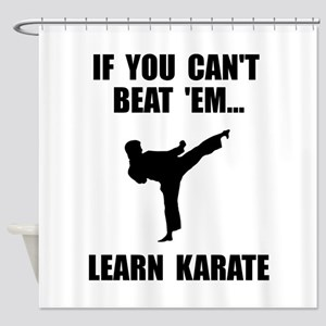 Learn Karate Shower Curtain