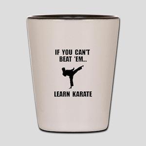 Learn Karate Shot Glass
