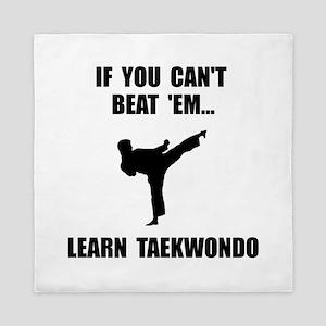 Learn Taekwondo Queen Duvet