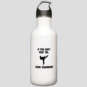 Learn Taekwondo Stainless Water Bottle 1.0L