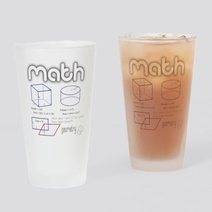 Geometry Solid Drinking Glass