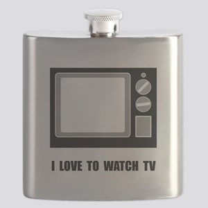 Love To Watch TV Flask
