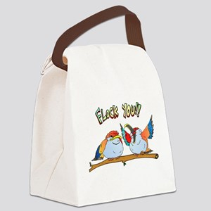 flock Canvas Lunch Bag