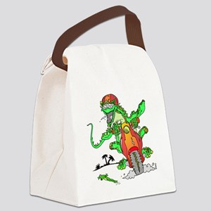 lizard.png Canvas Lunch Bag