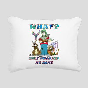 whatt Rectangular Canvas Pillow