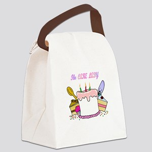 cake lady Canvas Lunch Bag