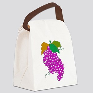 3-ScannedImage Canvas Lunch Bag