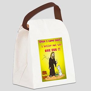 jesusnoegg Canvas Lunch Bag