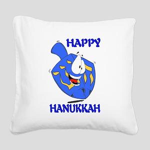 HAPPY HANUKKAH Square Canvas Pillow