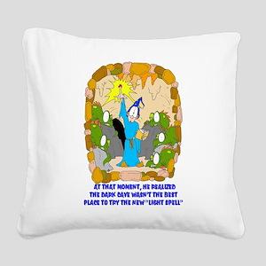 ScannedImage-2 Square Canvas Pillow