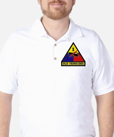1st Armored Division Golf Shirt
