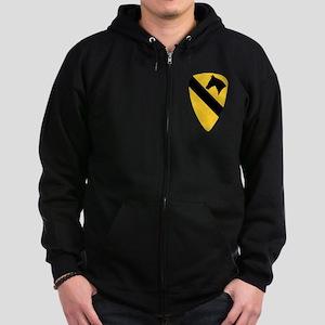 Air Cav Shoulder Zip Hoodie (dark)