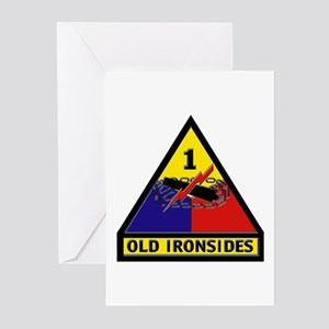 1st Armored Division Greeting Cards (Pk of 10)
