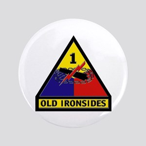 "1st Armored Division 3.5"" Button"