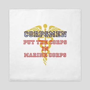 Marine Corps Corpsmen Queen Duvet