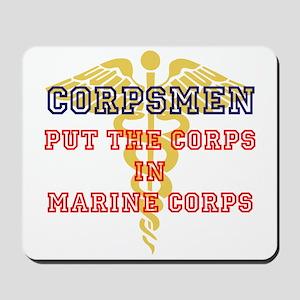 Marine Corps Corpsmen Mousepad