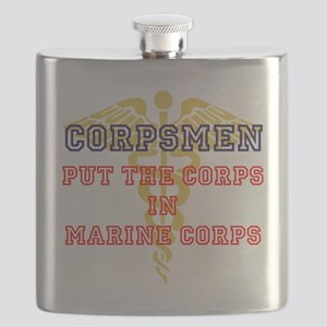 Marine Corps Corpsmen Flask