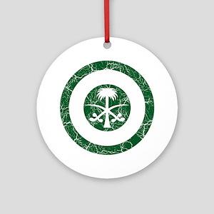 Saudi Arabia Roundel Ornament (Round)