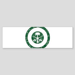 Saudi Arabia Roundel Sticker (Bumper)