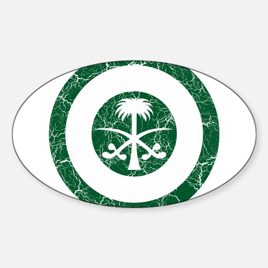 Saudi Arabia Roundel Sticker (Oval)