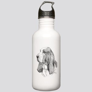 Basset Hound Stainless Water Bottle 1.0L