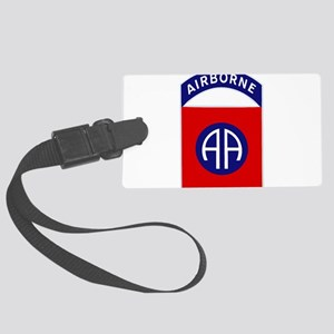 82nd Airborne Large Luggage Tag