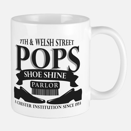 Pops Shoe Shine Parlor Mug