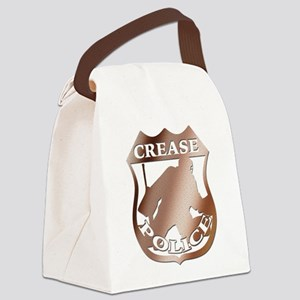 Hockey Crease Police Canvas Lunch Bag