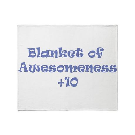 Blanket of Awesomeness Throw Blanket